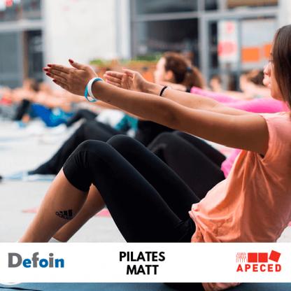 Curso subvencionado Apeced y Defoin - Pilates Matt