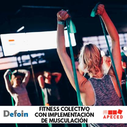 Curso subvencionado Apeced y Defoin - Fitness colectivo con implementación de musculación