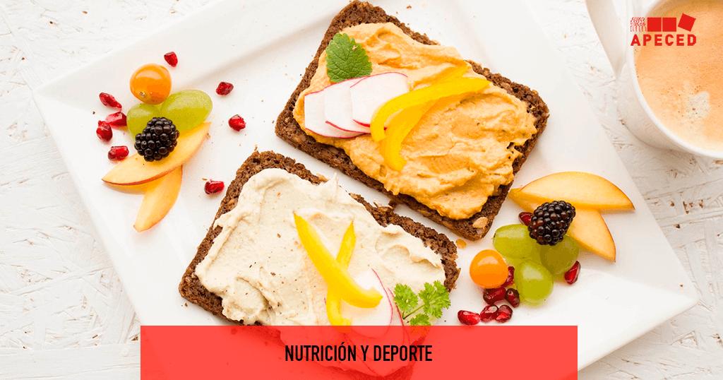 Nutrición y Deporte - Entrada blog Apeced