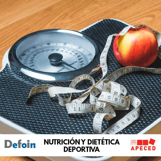 Curso subvencionado Apeced y Defoin - Nutrición y dietética deportiva