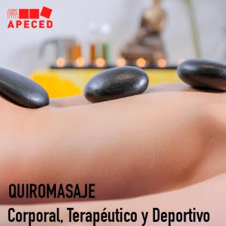 Quiromasaje Corporal, Terapéutico y Deportivo - Curso Apeced