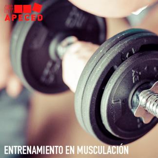 Entrenamiento Musculación - Curso Apeced