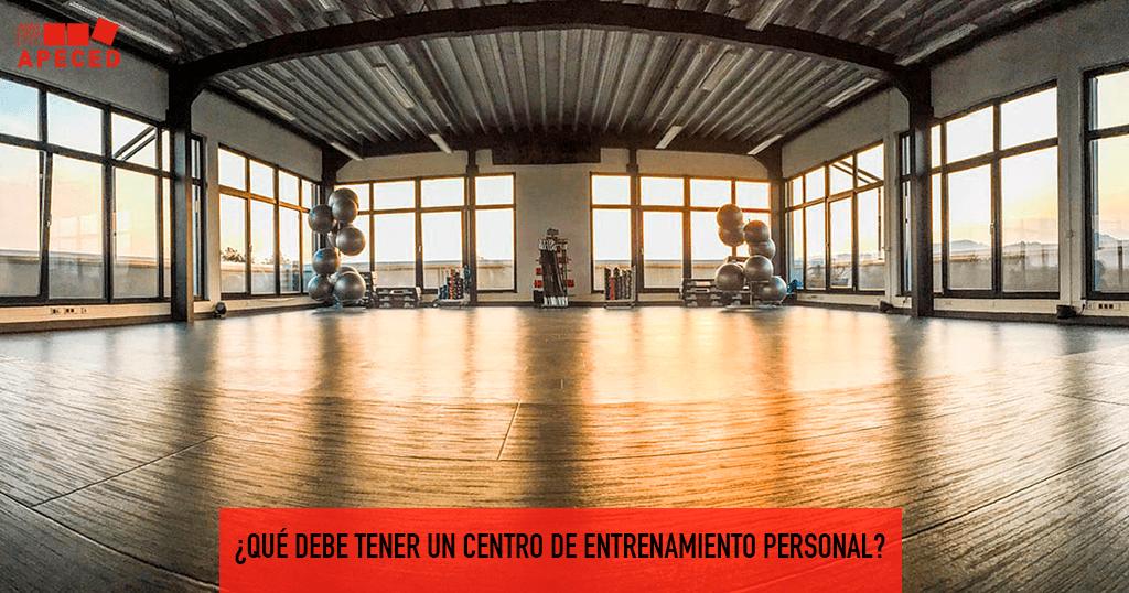 Centro entrenamiento personal - Entrada blog Apeced