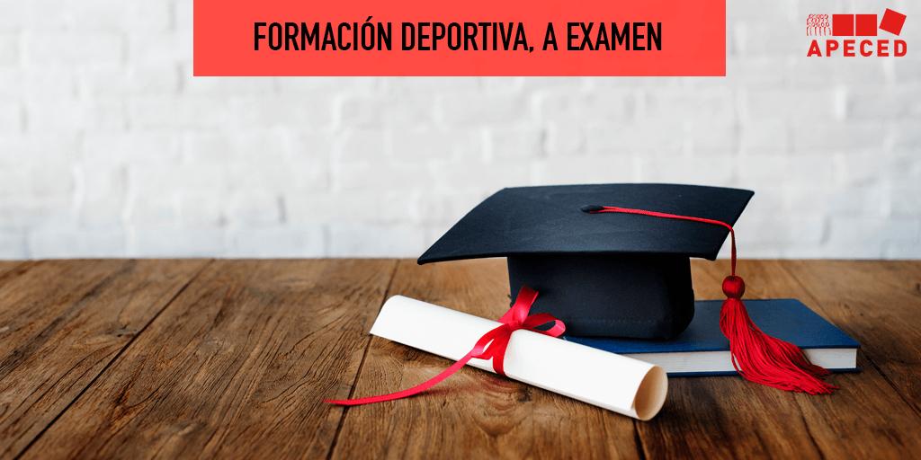 Formación deportiva a examen - Entrada blog Apeced