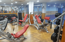 Instalaciones gimnasio APECED