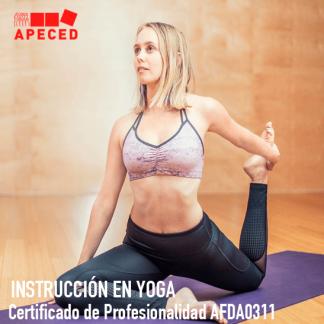Certificado de Profesionalidad AFDA0311 - Instrucción en Yoga - Apeced