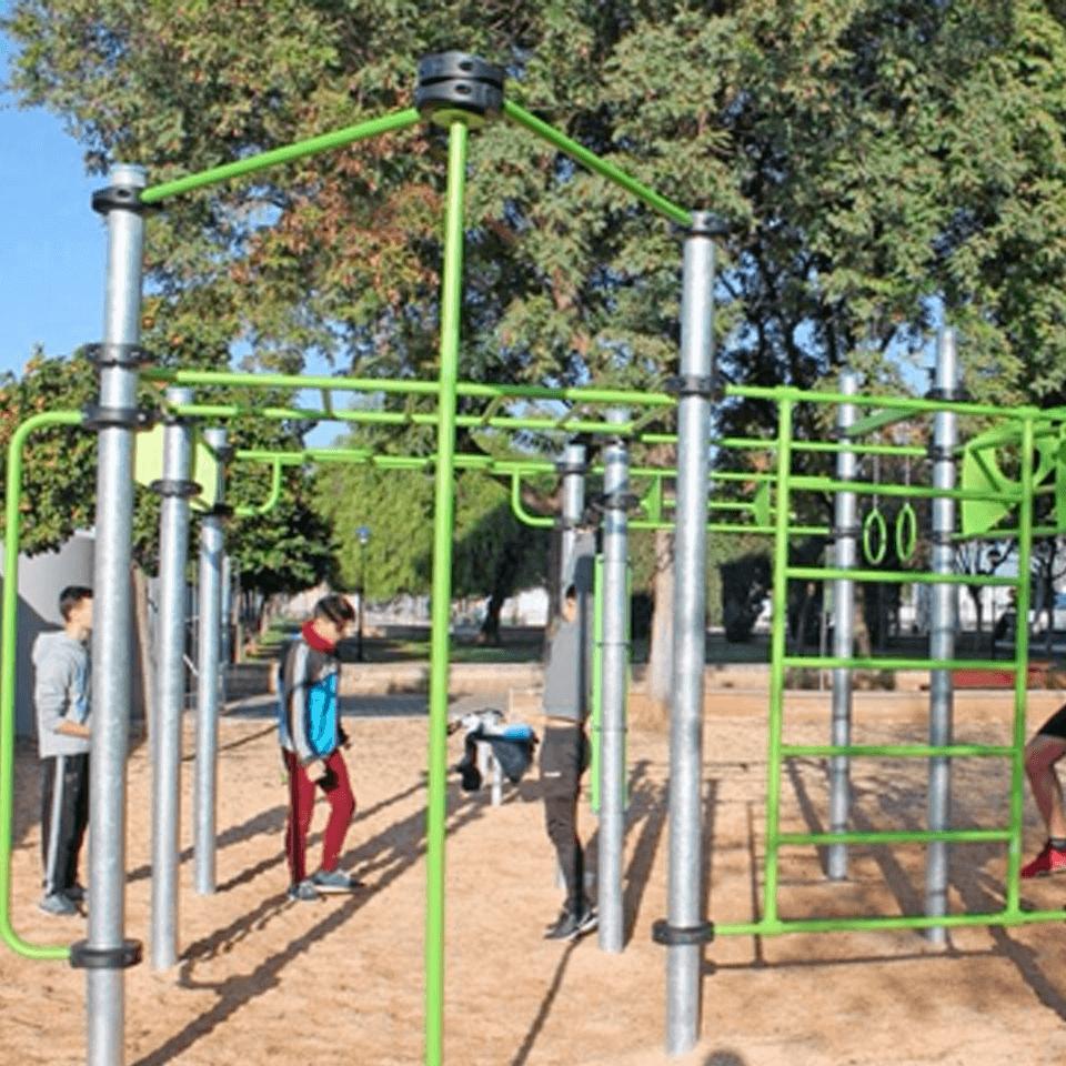 Parques Calistenia Madrid - Entrada blog Apeced - San Sebastián de los Reyes Boyal