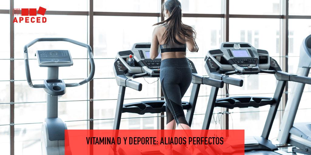 Vitamina D y deporte: aliados perfectos - Entrada blog Apeced