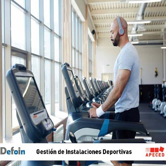 Curso subvencionado Apeced y Defoin - Gestión de Instalaciones Deportivas