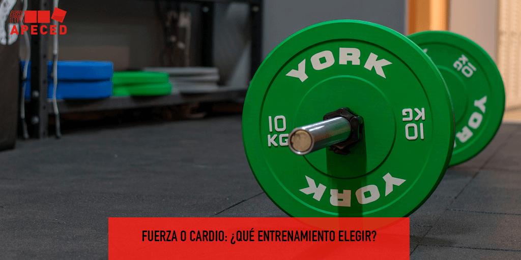 Fuerza o cardio: ¿qué entrenamiento elegir?