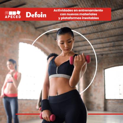 curso actividades entrenamiento nuevos materiales y plataformas inestables apeced defoin