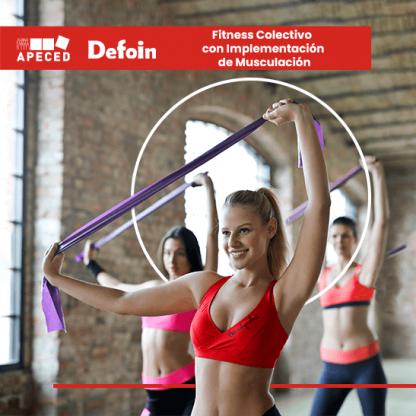 curso subvencionado fitness colectivo implementación muscular defoin apeced